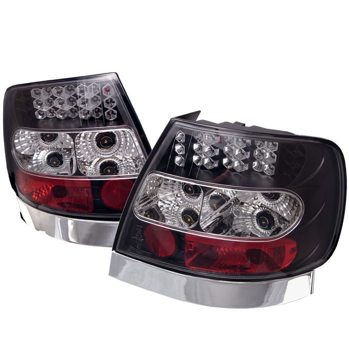 Audi A4 1996-2001  Black LED Tail Lights