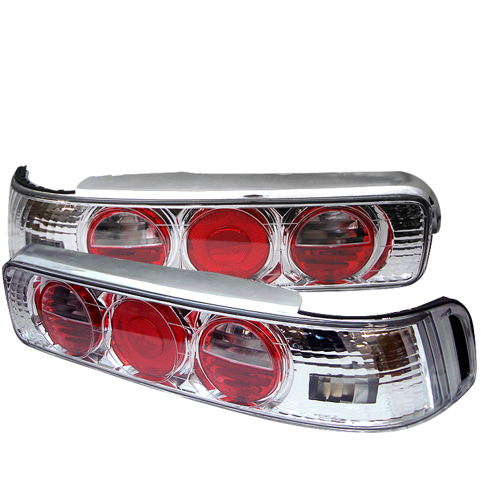 Acura Integra 1990-1993 2DR Chrome Euro Style Tail Lights