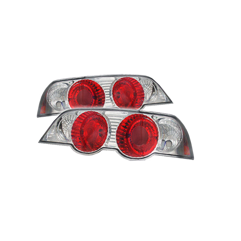 Acura RSX 2002-2004  Chrome Euro Style Tail Lights