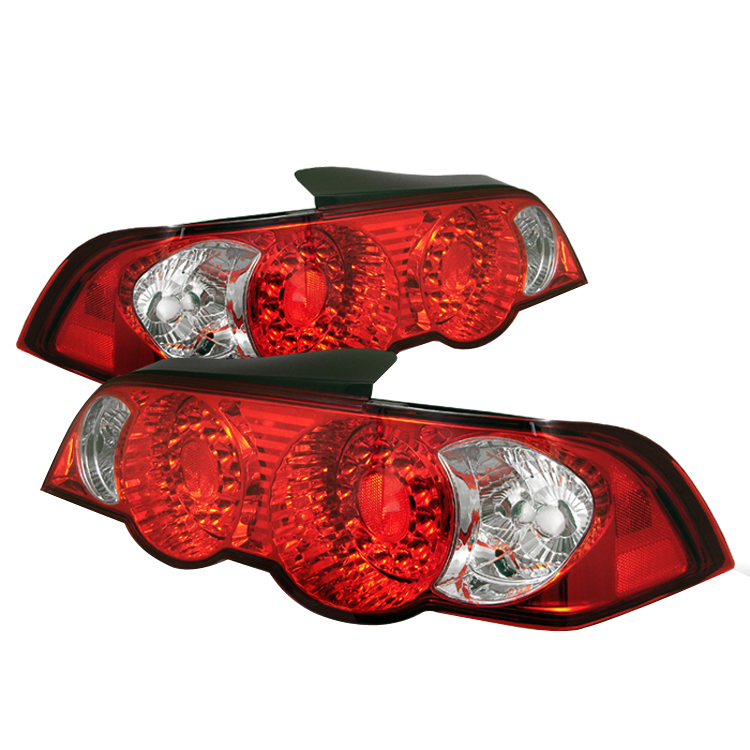 Acura RSX 2002-2004 LED Tail Lights By Spyder Auto
