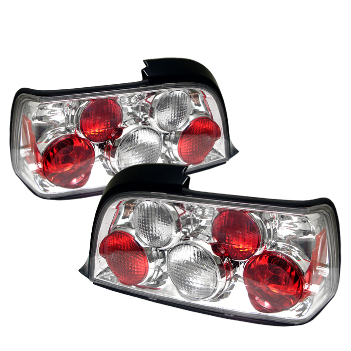 Bmw 3 Series 1992-1998 2DR Chrome Euro Style Tail Lights