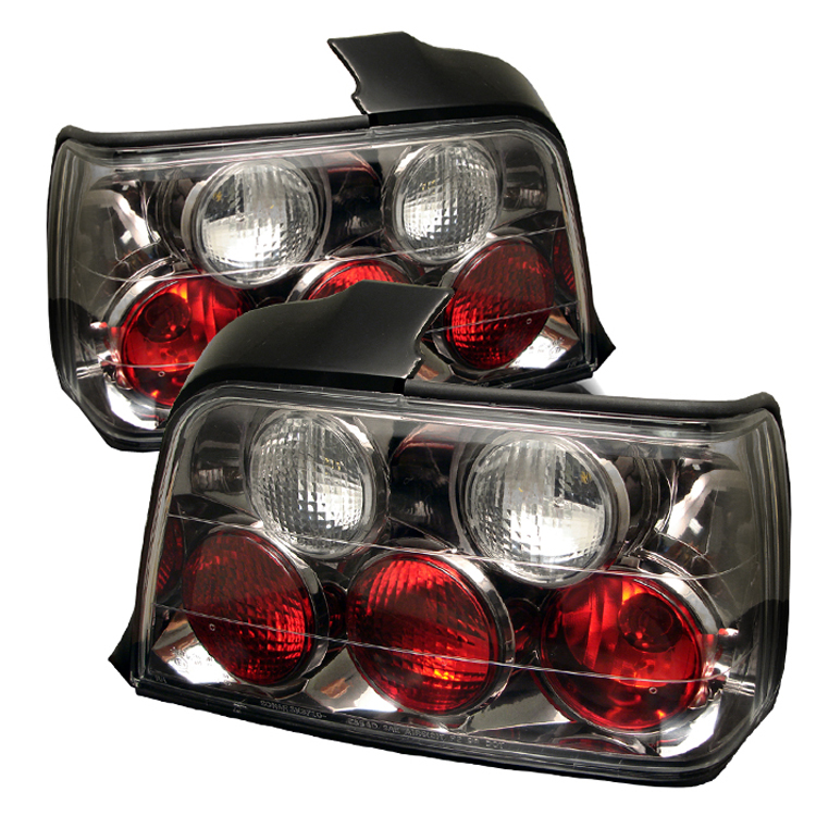 Bmw 3 Series 1992-1998 4DR Black Euro Style Tail Lights