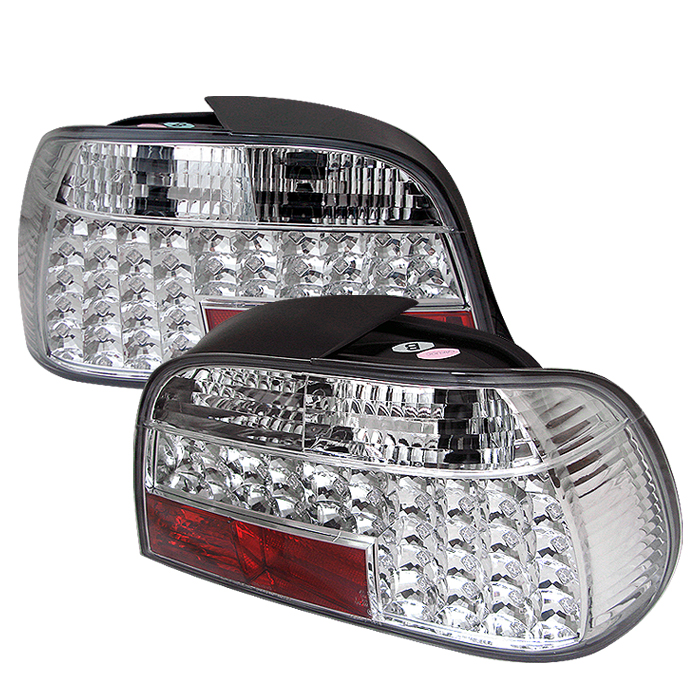Bmw 7 Series 1995-2001  Chrome LED Tail Lights
