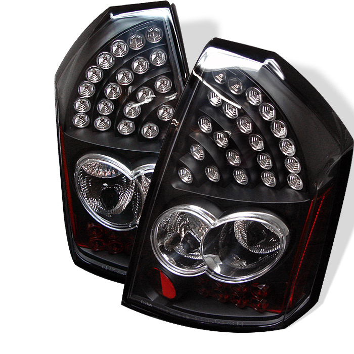 Chrysler 300C 2005-2006  Black LED Tail Lights