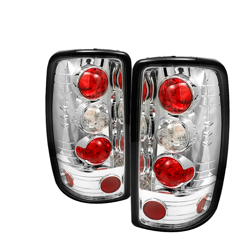 Gmc Denali 2000-2006 Barn Chrome Euro Style Tail Lights