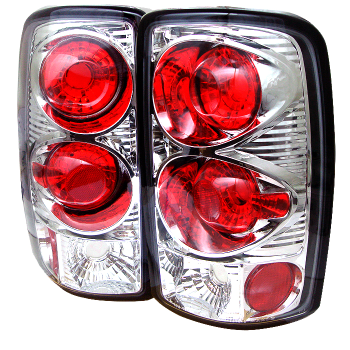 Gmc Denali 2000-2006  Chrome Euro Style Tail Lights