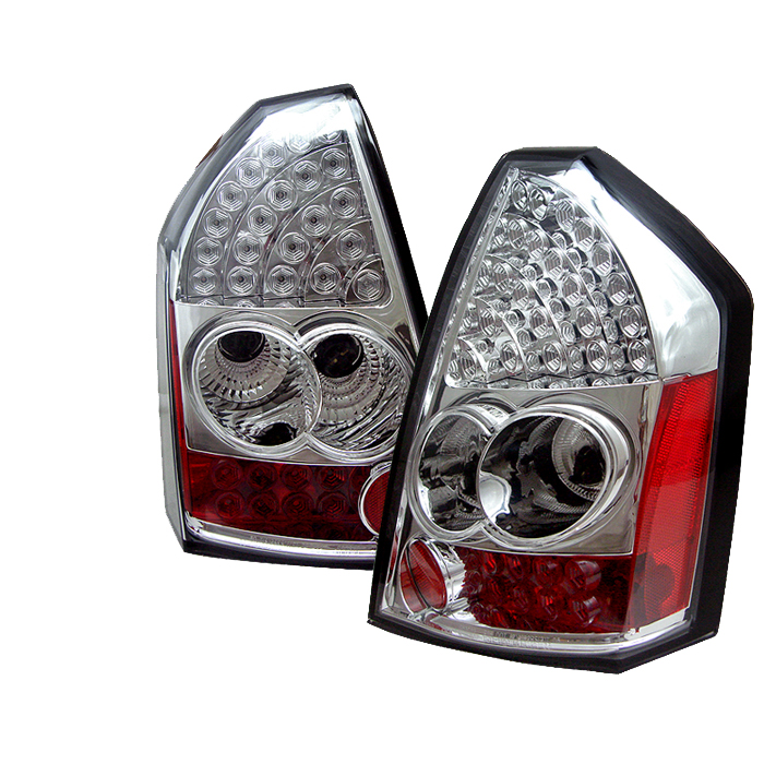 Chrysler 300 2005-2007  Chrome LED Tail Lights