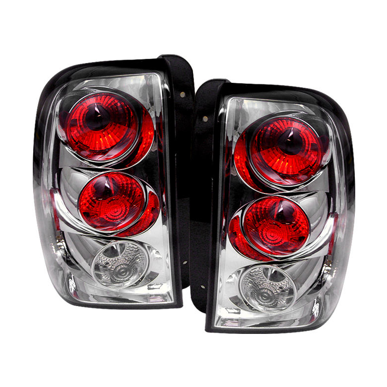 Chevrolet Trail Blazer 2002-2004  Chrome Euro Style Tail Lights