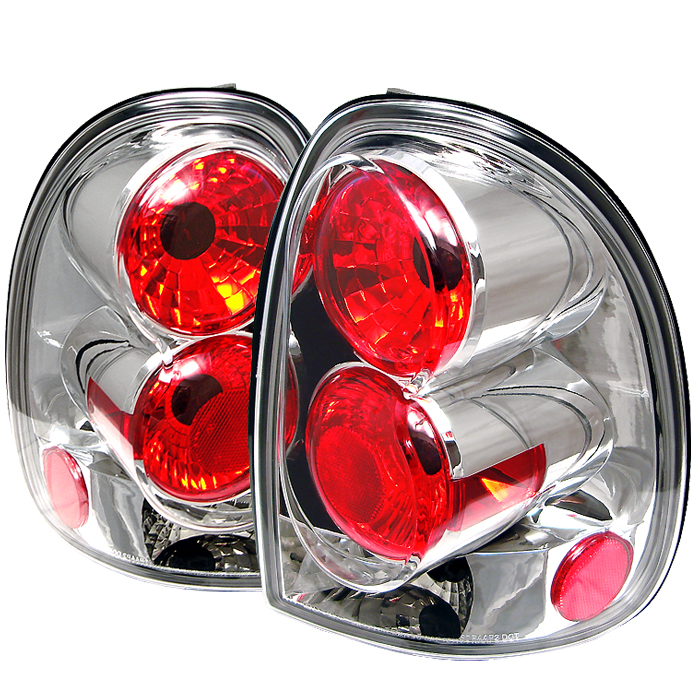 Dodge Caravan 1996-2000  Chrome Euro Style Tail Lights