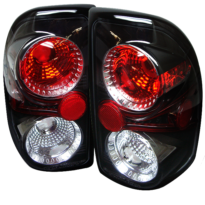 Dodge Dakota 1997-2001  Black Euro Style Tail Lights