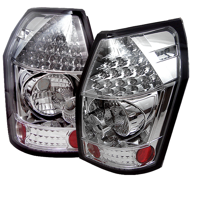 Dodge Magnum 2005-2008  Chrome LED Tail Lights