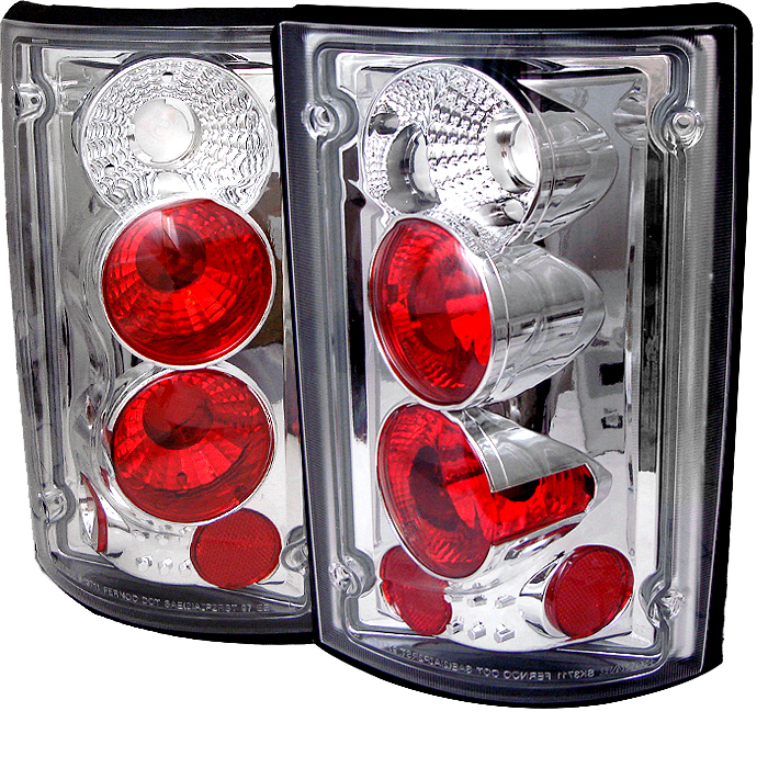Ford Excursion 2000-2004  Chrome Euro Style Tail Lights
