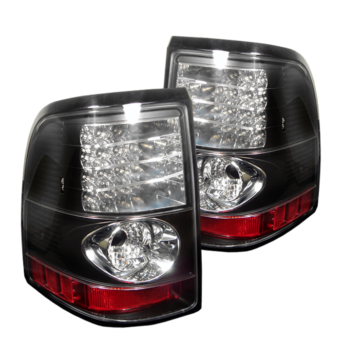 Ford Explorer 2002-2005  Black LED Tail Lights