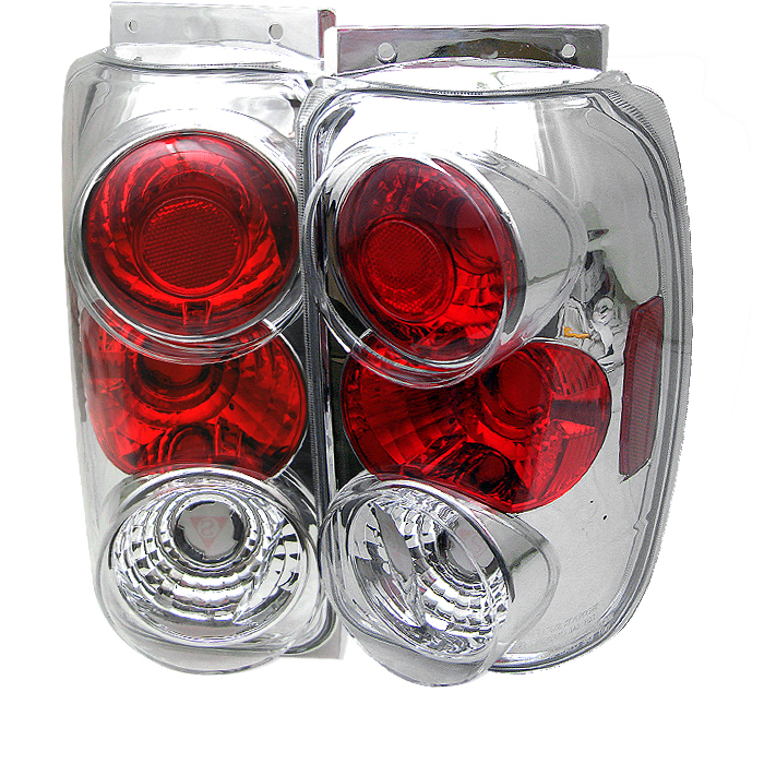 Ford Explorer 1995-1997  Chrome Euro Style Tail Lights