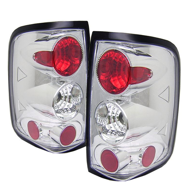 Ford F150 2004-2007  Chrome Euro Style Tail Lights