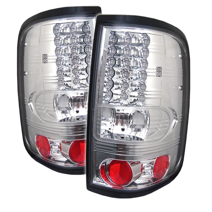 Ford F150 2004-2008  Chrome LED Tail Lights