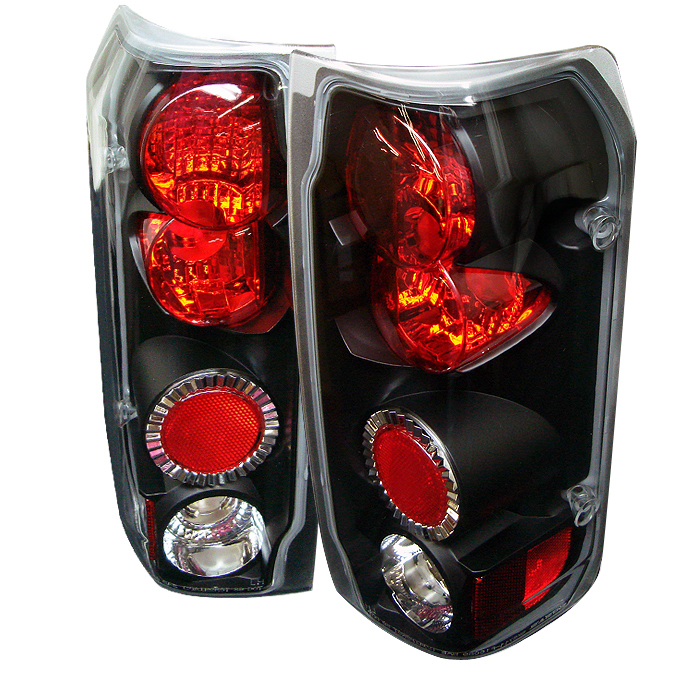 Ford F150 1989-1996  Black Euro Style Tail Lights