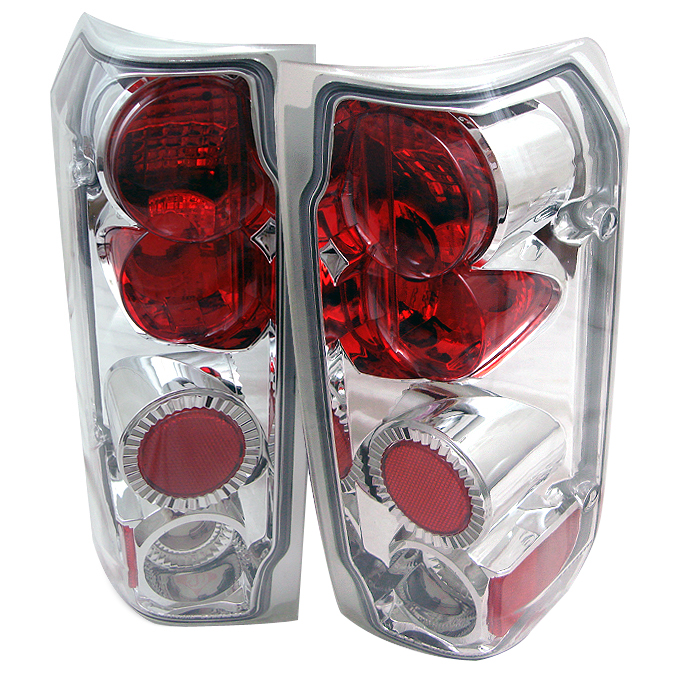 Ford F150 1989-1996  Chrome Euro Style Tail Lights