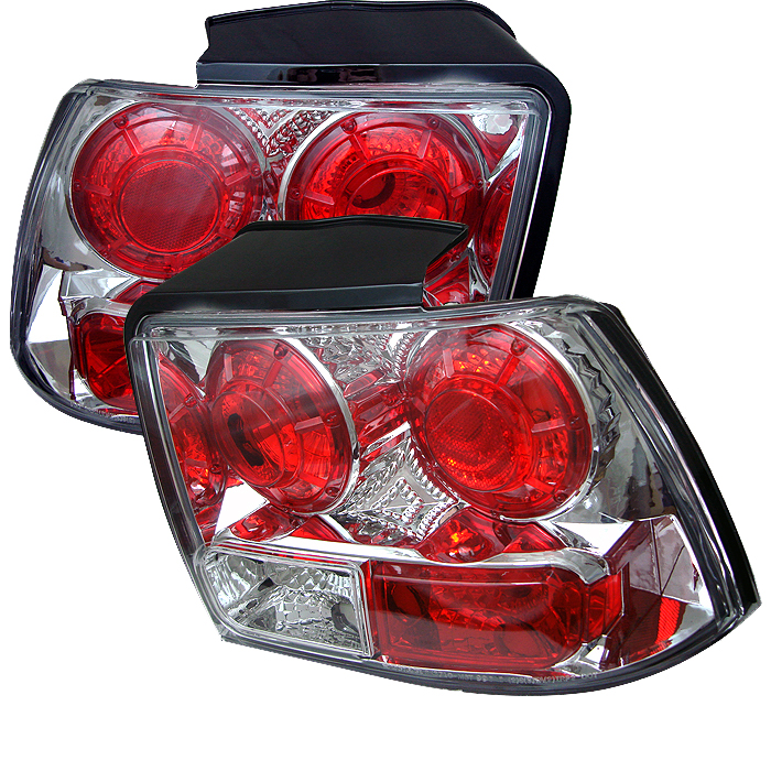 Ford Mustang 1999-2004  Chrome Euro Style Tail Lights