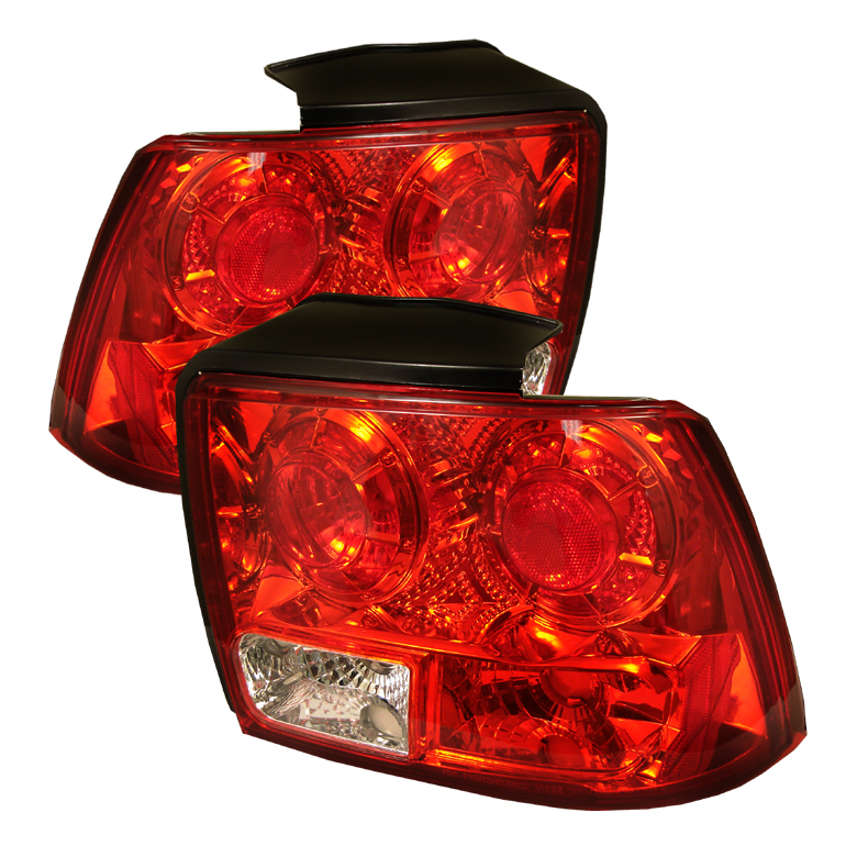 Ford Mustang 1999-2004  Red Euro Style Tail Lights