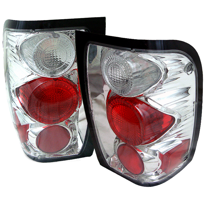 Ford Ranger 1998-2001  Chrome Euro Style Tail Lights