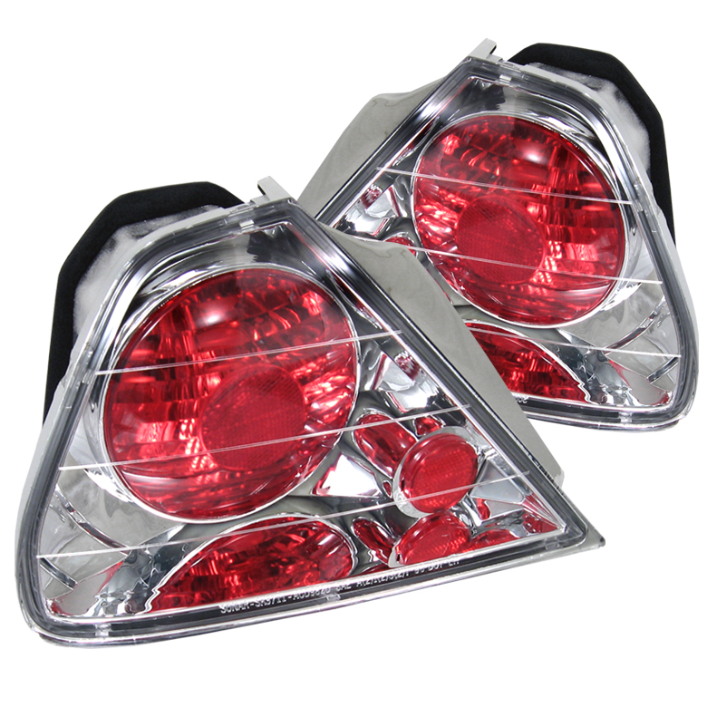 Honda Accord 1998-2000 2DR Chrome Euro Style Tail Lights