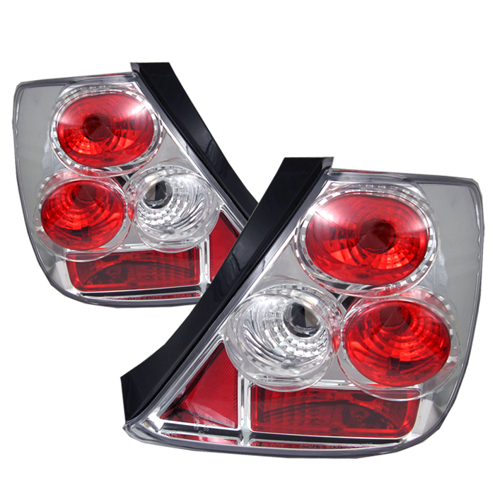 Honda Civic 2003-2005  Chrome Euro Style Tail Lights