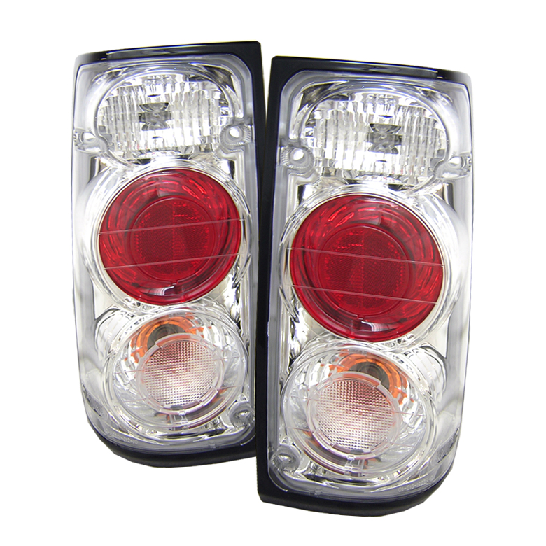 Isuzu Rodeo 1991-1994  Chrome Euro Style Tail Lights