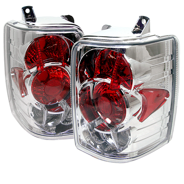 Jeep Grand Cherokee 1993-1998  Chrome Euro Style Tail Lights