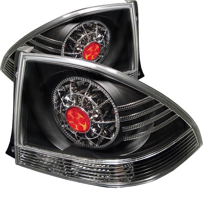 Lexus Is 300 2001-2003  Black LED Tail Lights
