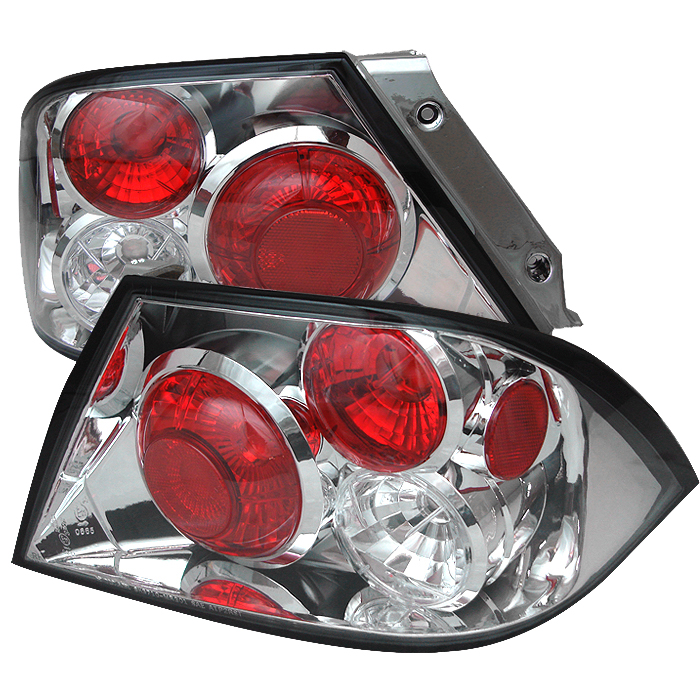 Mitsubishi Lancer 2002-2003  Chrome Euro Style Tail Lights