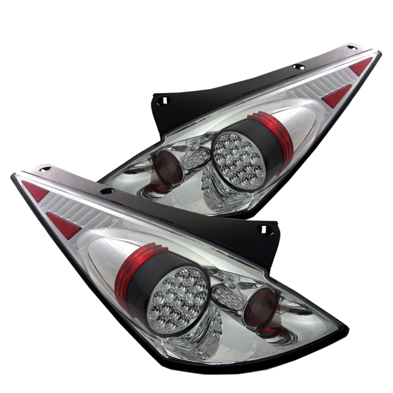 Nissan 350Z 2002-2005  Chrome LED Tail Lights