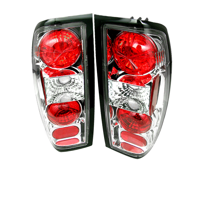 Nissan Frontier 1998-2000  Chrome Euro Style Tail Lights