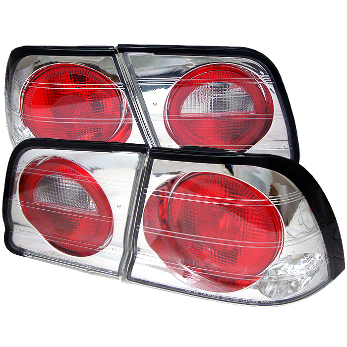 Nissan Maxima 1995-1996  Chrome Euro Style Tail Lights