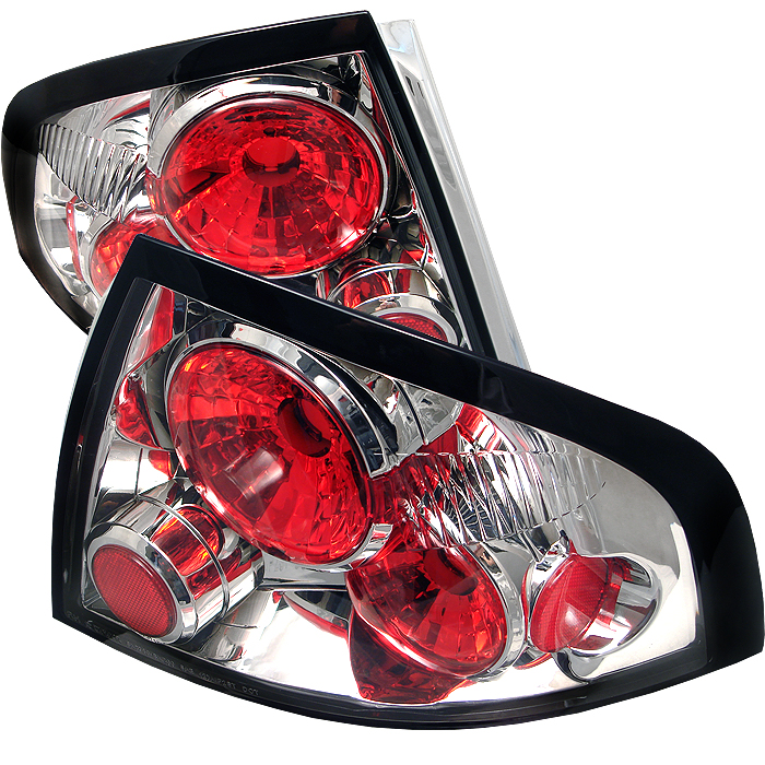 Nissan Sentra 2000-2003  Chrome Euro Style Tail Lights