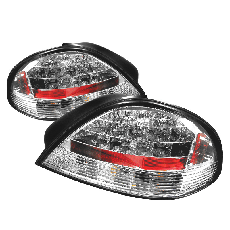Pontiac Grand Am 1999-2005  Chrome LED Tail Lights