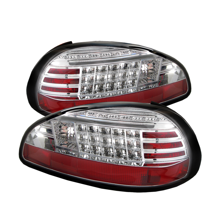 Pontiac Grand Prix 1997-2003  Chrome LED Tail Lights