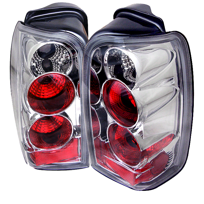 Toyota 4 Runner 1996-2002  Chrome Euro Style Tail Lights