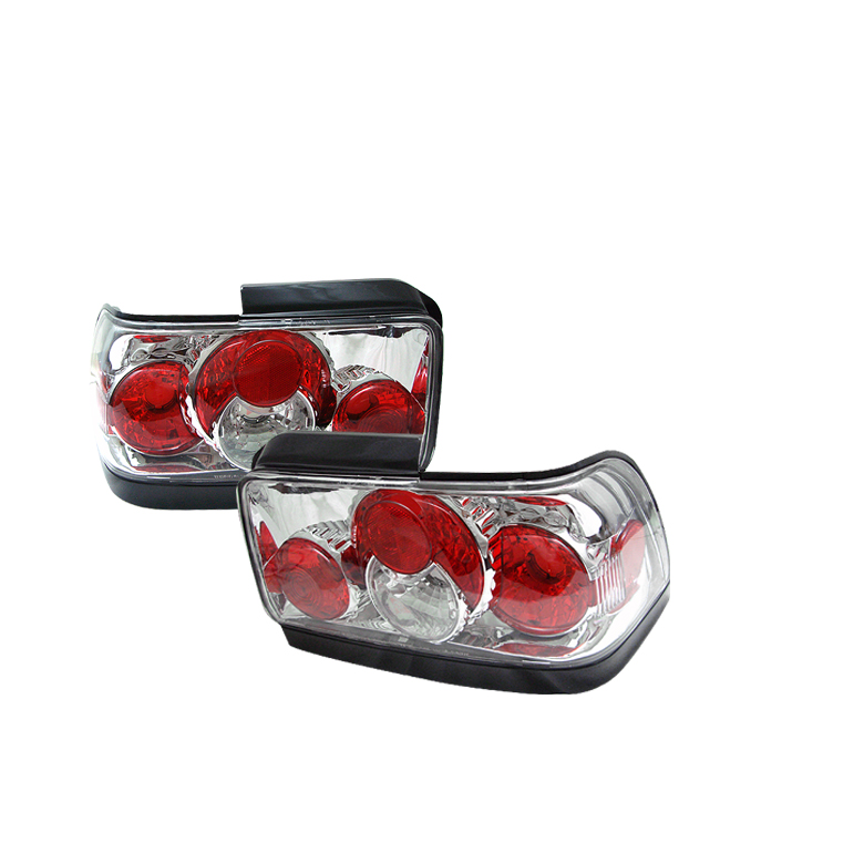 Toyota Corolla 1993-1995  Chrome Euro Style Tail Lights
