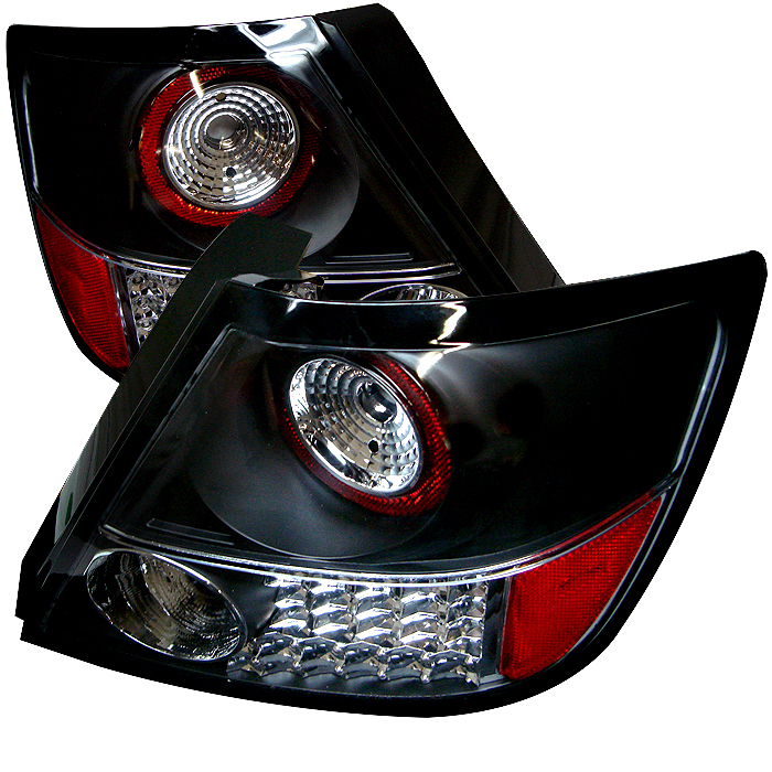 Scion TC 2004-2008  Black LED Tail Lights