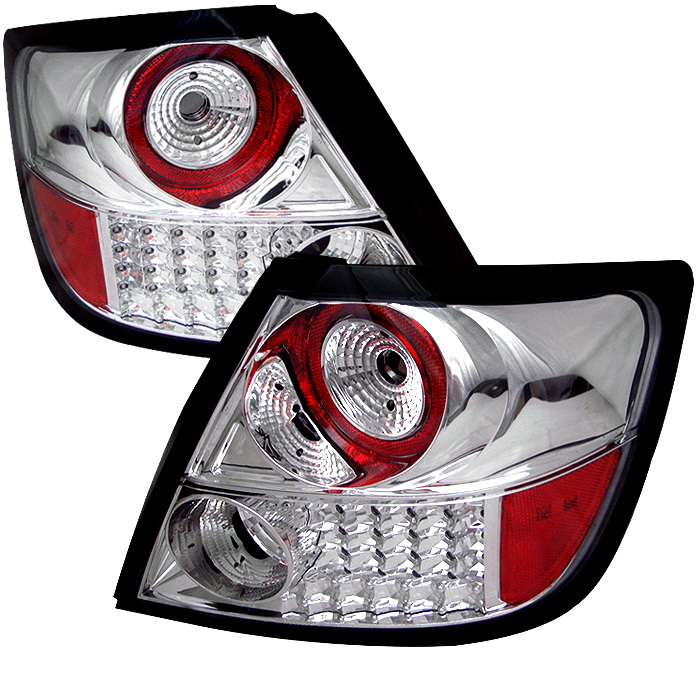 Scion TC 2004-2008  Chrome LED Tail Lights