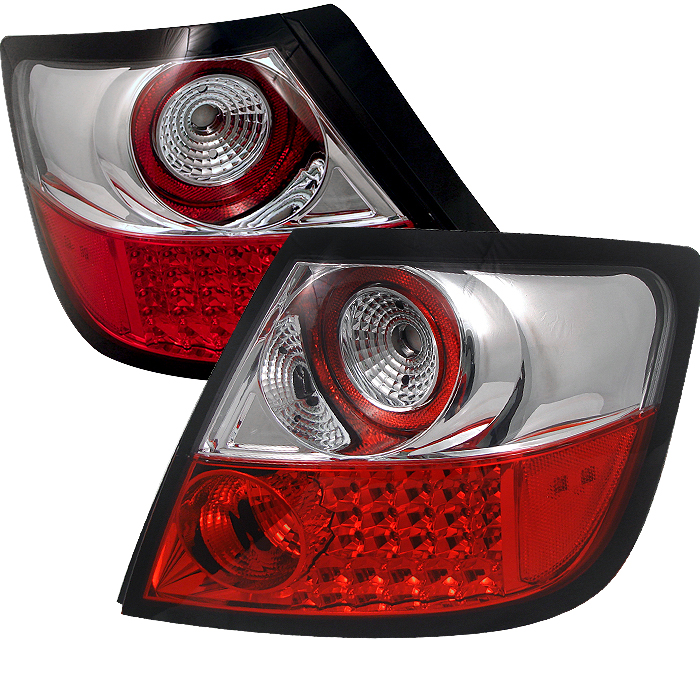 Scion TC 2004-2008  Red Clear LED Tail Lights
