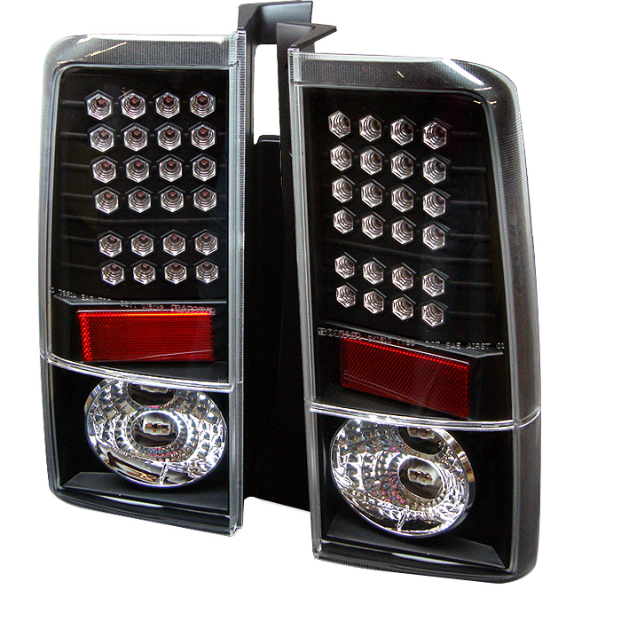 Scion XB 2003-2006  Black LED Tail Lights