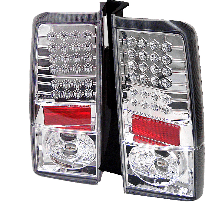 Scion XB 2003-2006  Chrome LED Tail Lights