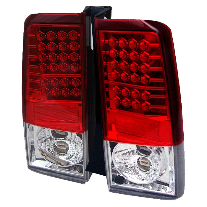 Scion XB 2003-2006  Red Clear LED Tail Lights