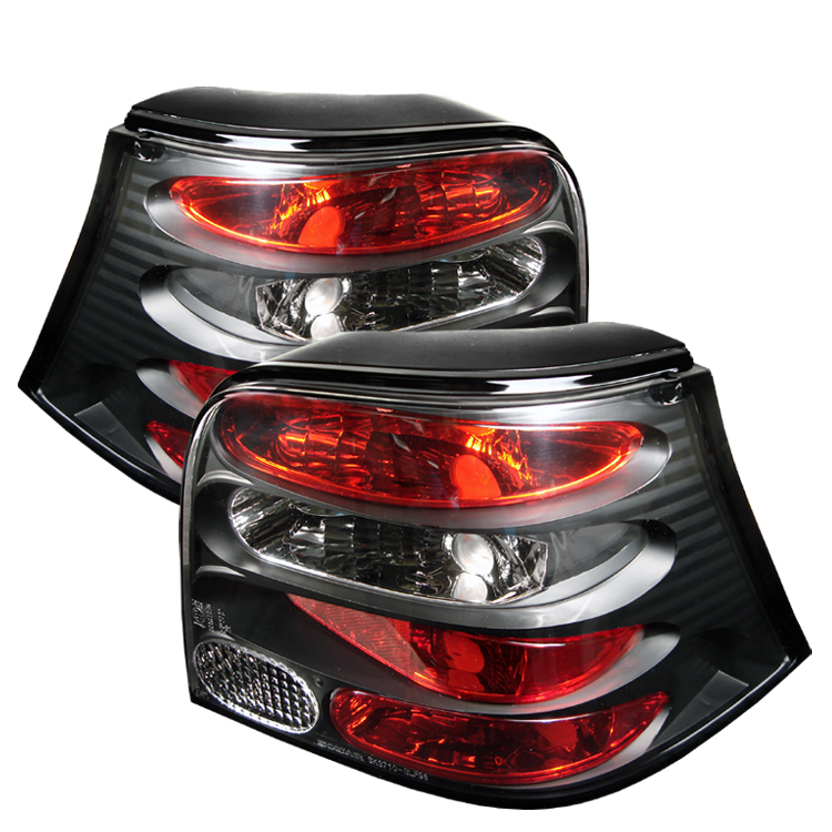 Volkswagen Golf 1999-2004  Black Euro Style Tail Lights