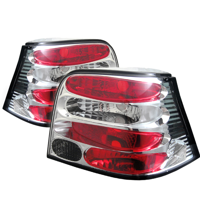 Volkswagen Golf 1994-2004  Chrome Euro Style Tail Lights