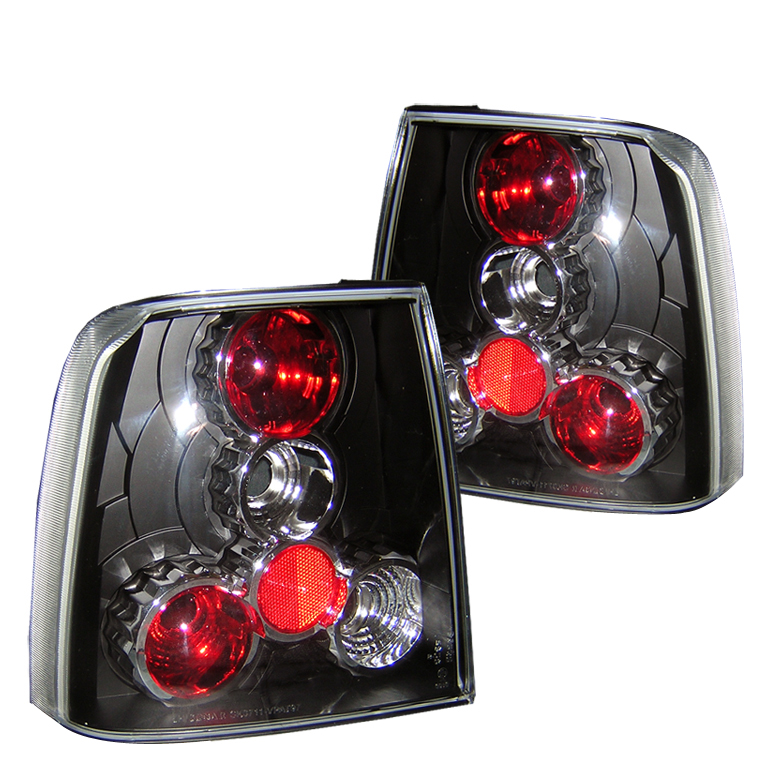 Volkswagen Passat 1997-2000  Black Euro Style Tail Lights