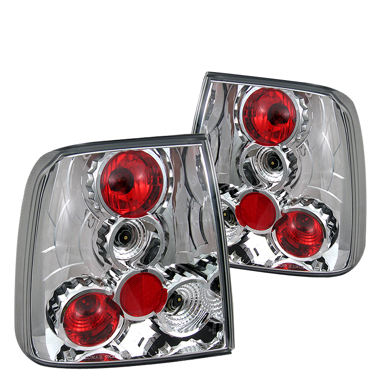 Volkswagen Passat 1997-2000  Chrome Euro Style Tail Lights