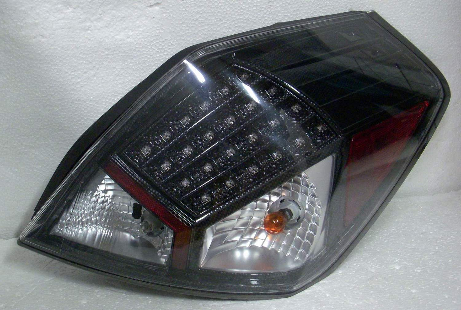 Nissan Altima 2007-2009 Carbon Fiber Housing LED Tail Lights